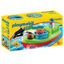 Playmobil-123-Pecheur-avec-bateau