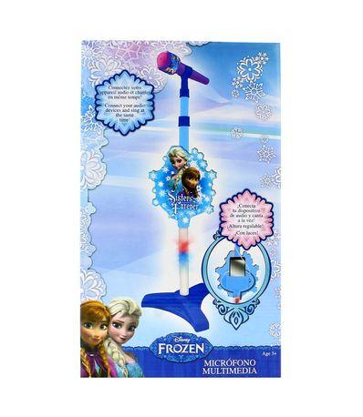 Frozen-Microfono-con-Pie