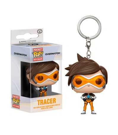 Porte-cles-Pop-Tracer---Overwatch