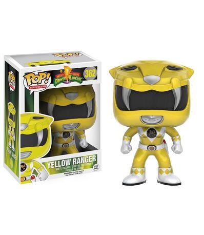 Figurine-Funko-Pop-Ranger-Jaune
