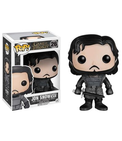 Figura-do-Funko-POP--Jon-Snow-Castle-Preto