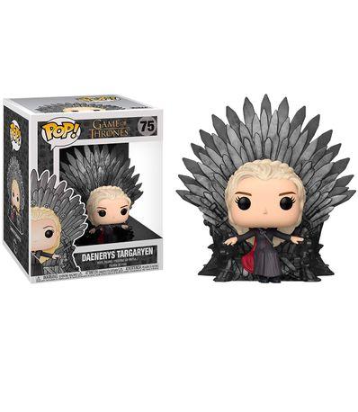 Funko-Pop-Daenerys-figure-sur-le-trone