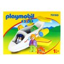 Playmobil-123-Avion-avec-passager
