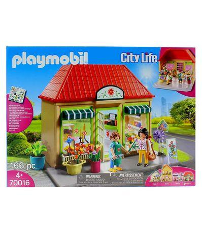 Vida-na-cidade-de-Playmobil-minha-florista
