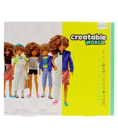 Creatable-World-Kit-Figura-Peluca-con-Rizos