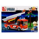 Sluban-Building-Blocks-Truck-with-Ladder