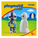 Playmobil-123-Caballero-con-Fantasma
