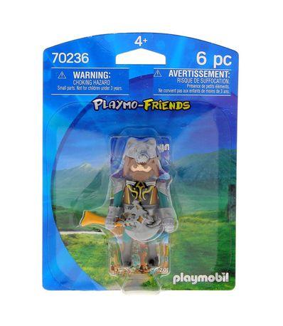 Playmobil-Playmo-Friends-Guerrero-Lobo