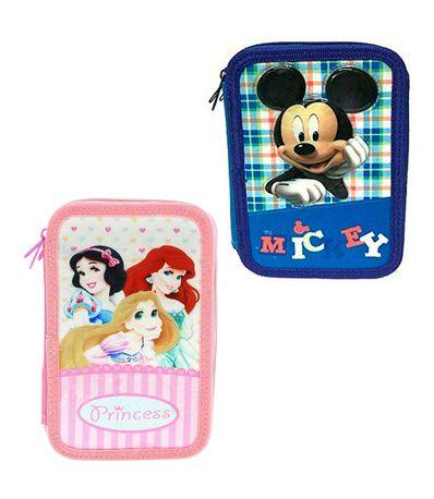 Princesas-Disney-Estuche-Triple-Lleno-Surtido