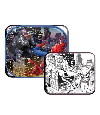Cortina-guarda-sol--Lateral-2-unidades-Spiderman