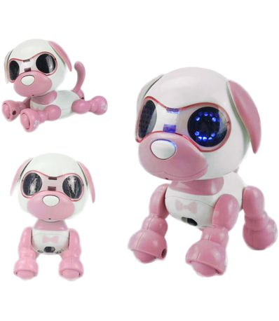 Cao-robo-rosa-inteligente