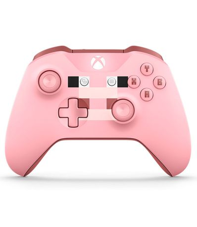 Mando-Wireless-Edicion-Limitada-Minecraft-Rosa-Pig