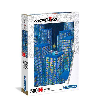 Puzzle-Dusk-Mordillo-500-pieces