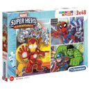 Puzzles-Marvel-Super-Hero-3x48-pieces