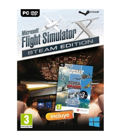 Microsoft-Fsx--Flight-Simulator-X--Dvd----Ww2-Collection-PC