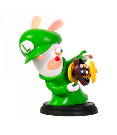 Figura-Rabbids-Luigi--Serie-Mario---Rabbids--16-Cm