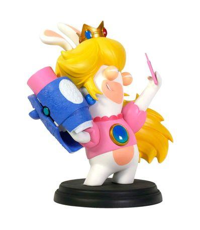 Figura-Rabbids-Peach--Serie-Mario---Rabbids--16-Cm