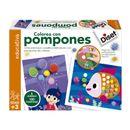 Colorea-con-Pompones