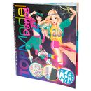 Top-Model-Libro-de-Colorear-Dance