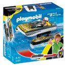 Playmobil-Click--amp--Go-Croc-Lancha
