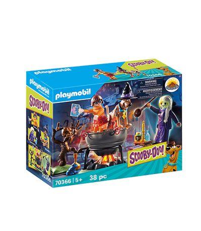 Playmobil-Scooby-doo-Chaudron-de-la-sorciere-Zeb