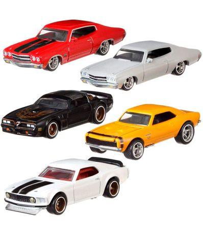 Assortiment-de-vehicules-Hot-Wheels-Fast--amp--Furious