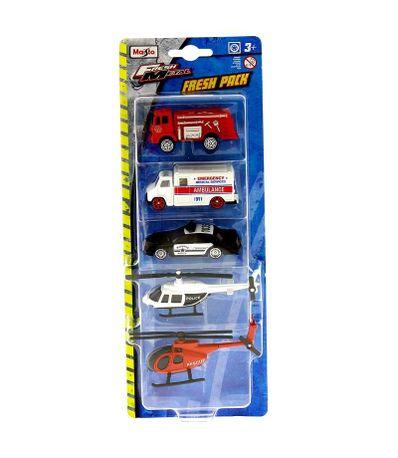 Conjunto-de-carros-Fresh-Pack-de-emergencias-Escal