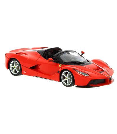 Carro-Miniatura-Ferrari-Aperta-Escala-1-24