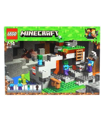 Lego-Minecraft-La-Grotte-des-Zombies