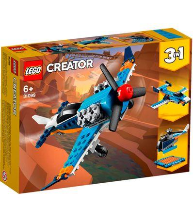 Avion-a-helice-3-en-1-Lego-Creator