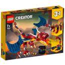 Lego-Creator-3-en-1-Dragon-Llameante