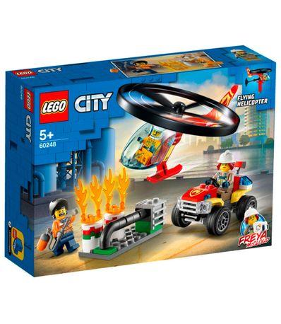 Intervention-en-helicoptere-d--39-incendie-Lego-City