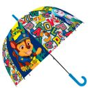 Parapluie-transparent-automatique-Paw-Patrol