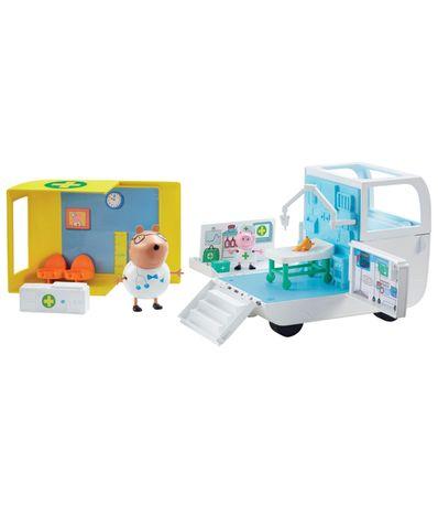 Centre-medical-et-ambulance-Peppa-Pig