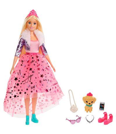 Barbie-Princess-Deluxe-Pink