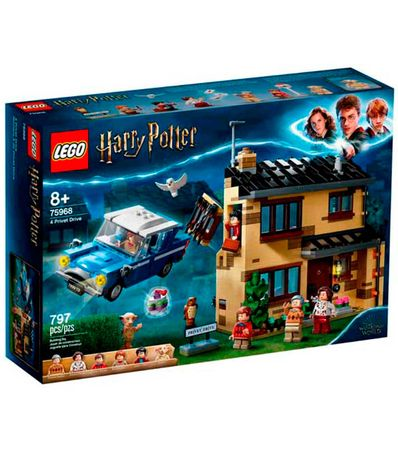 Lego-Harry-Potter-numero-4-de-Privet-Drive