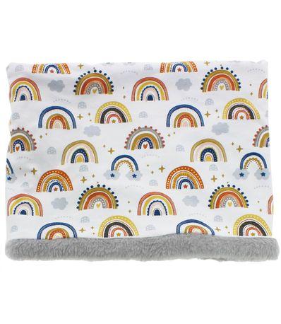Polaina-de-pescoco-de-la-arco-iris
