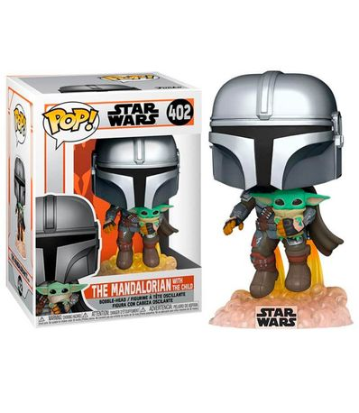Funko-POP-Star-Wars-Mandalorian-Jet---Baby-Yoda