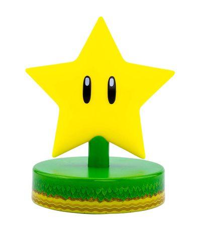 Super-Mario-Mini-Lampe-Icone-Star