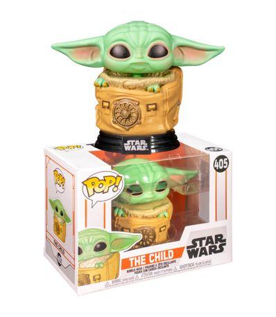 Funko-POP-Star-Wars-Mandalorian-Baby-Yoda-no-saco