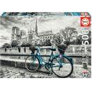 Puzzle-velo-pres-de-Notre-Dame-500-pieces
