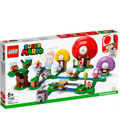 Expansao-do-Lego-Super-Mario--Toad-Treasure-Hunt