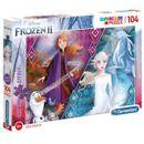 Puzzle-Glitter-Frozen-2-104-pieces
