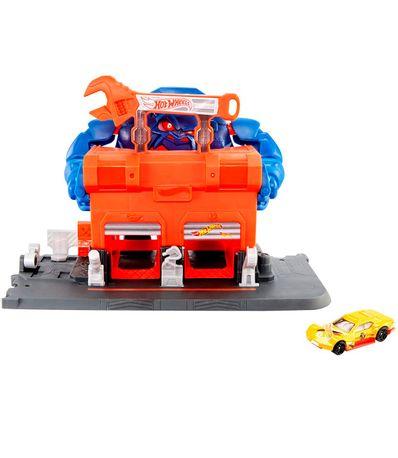 Hot-Wheels-City-Workshop-Gorilla--39-s-Fury