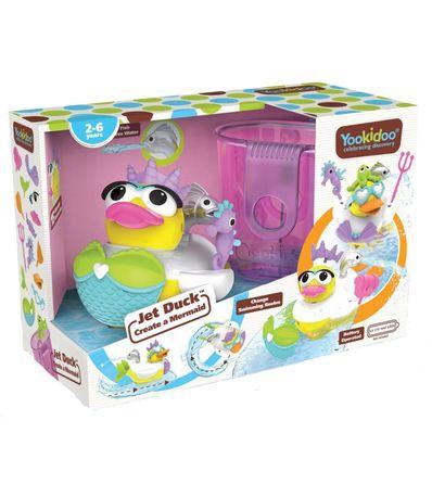 Bath-jeu-Duck-Jet-cree-une-sirene