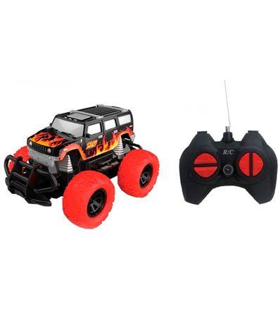 Voiture-tout-terrain-Monster-Truck-Llamas-1-28-R---C