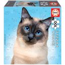 Puzzle-Chat-Siamois-100-pieces