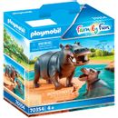 Playmobil-Family-Fun-Hippo-com-bebe