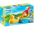Playmobil-123-Familia-de-Patos-Aqua