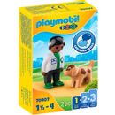 Playmobil-123-Veterinarian-with-Dog